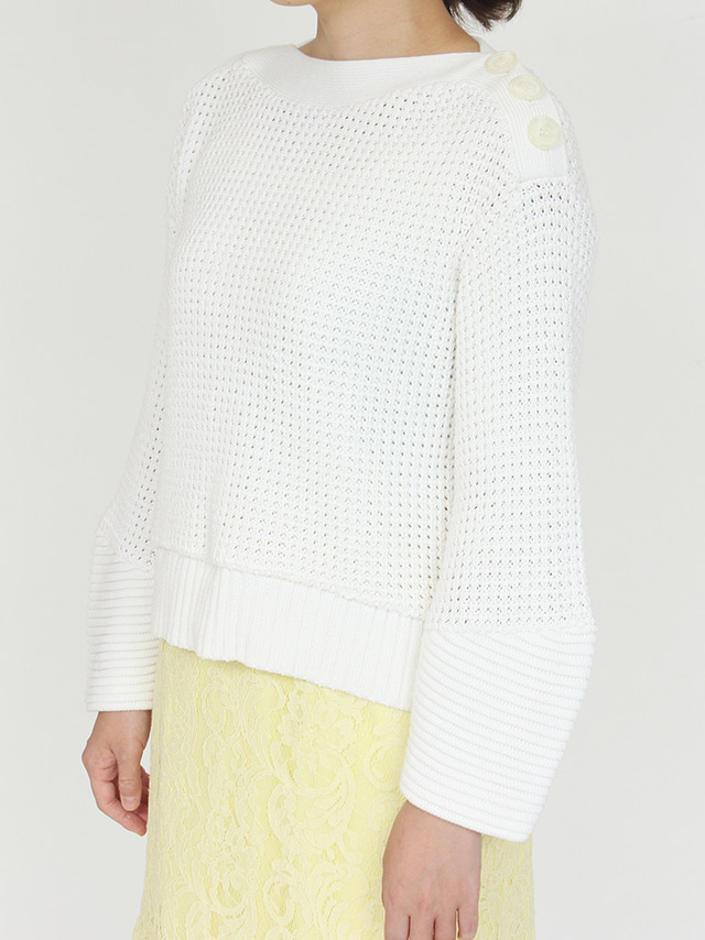 cocoon sleeve knit
