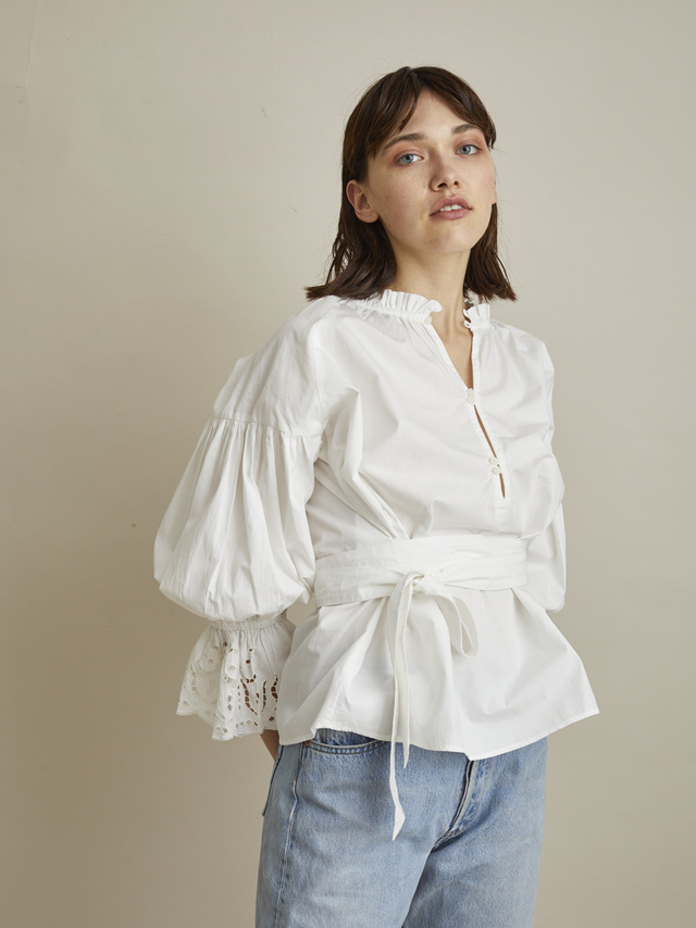 cutwork embloidery blouse