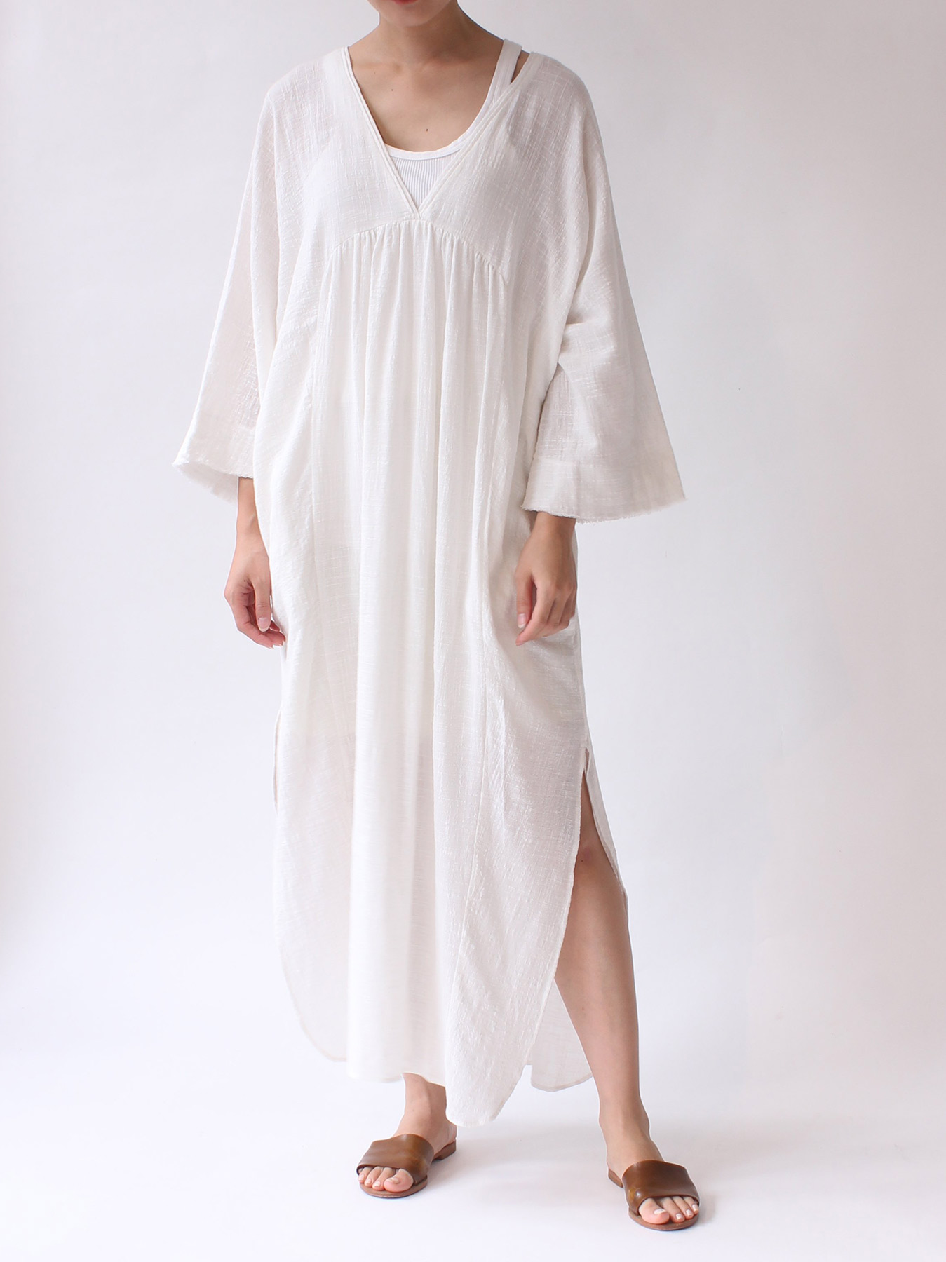 cotton kaftan dress