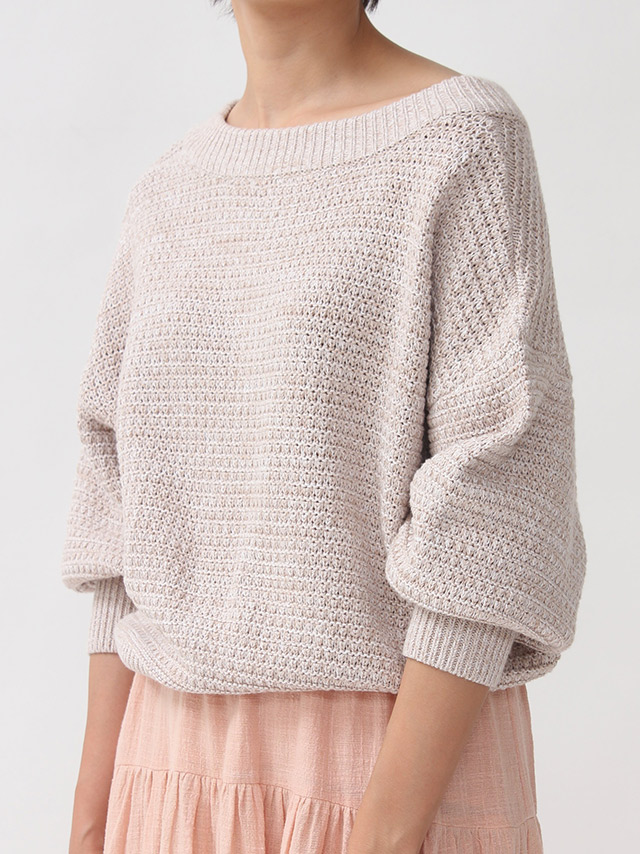 middle gauge mix knit