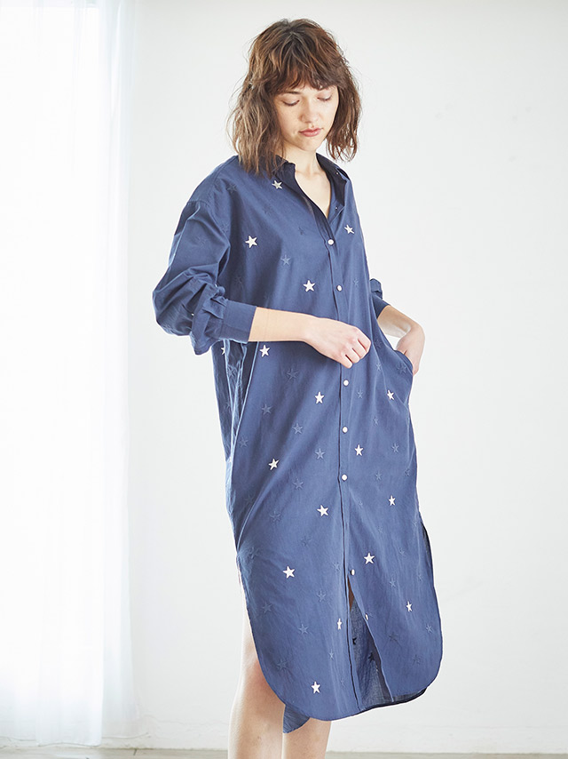 star★★ shirt dress